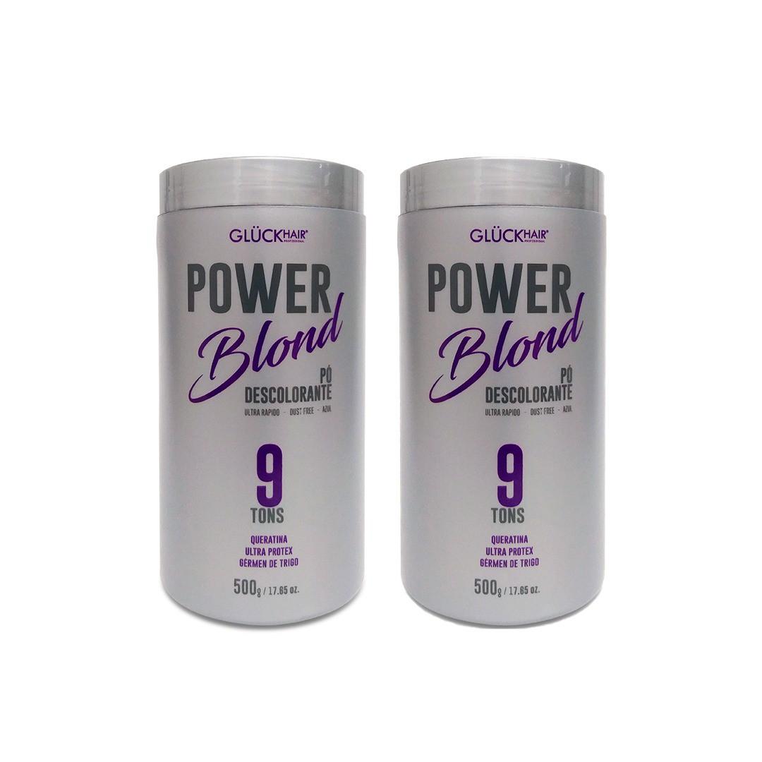02 Unidades de Pó Descolorante PowerBlond 500g