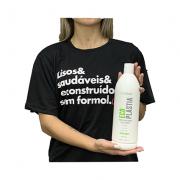 Creme Reconstrutor e Disciplinante EcoPlastia 1000ml - Semi Definitiva Passo Unico Sem Formol