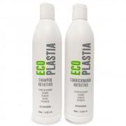 Kit Shampoo e Condicionador Nutritivo Eco Plastia 500ml