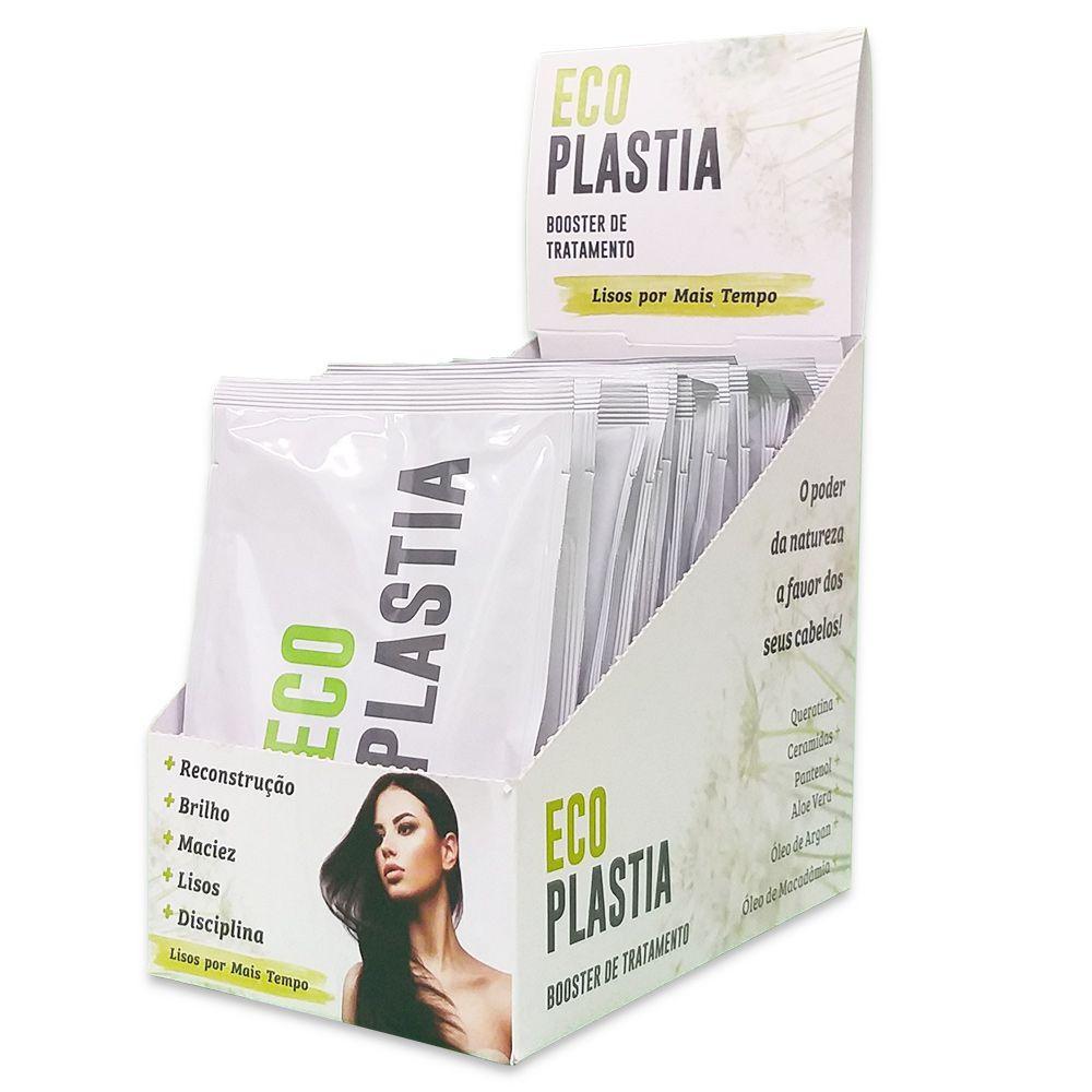 Mascara de Tratamento Manutenção Home Care Booster com Efeito Liso por mais tempo EcoPlastia Sachê 30g
