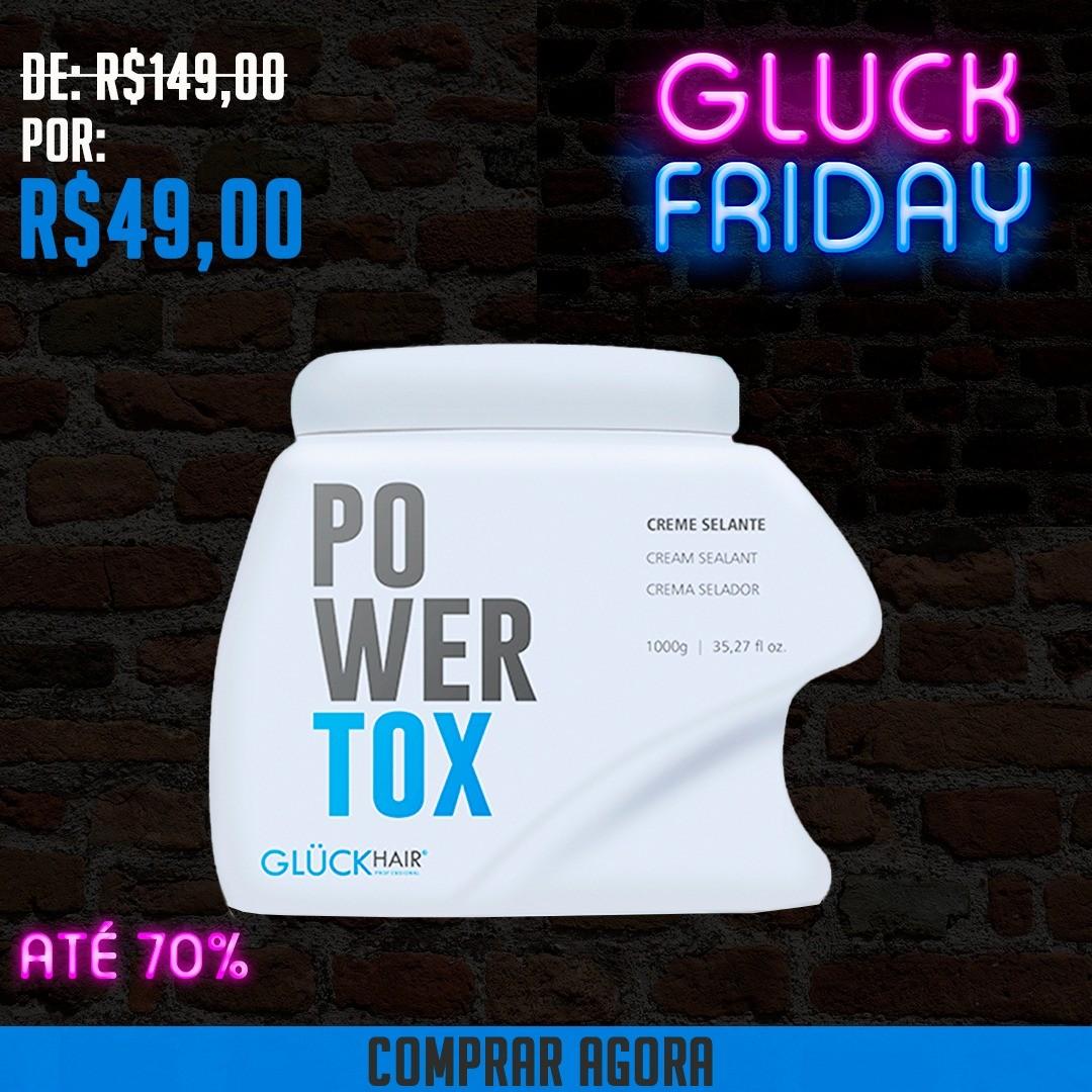 Creme Selante Efeito Btx Capilar Powertox 1000g