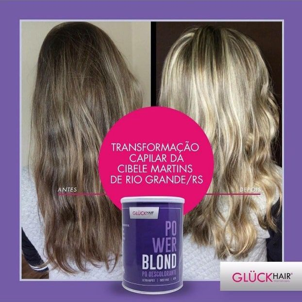 Kit Super Loiros PowerBlond Agua Oxigenada 20 volumes + Pó Descolorante