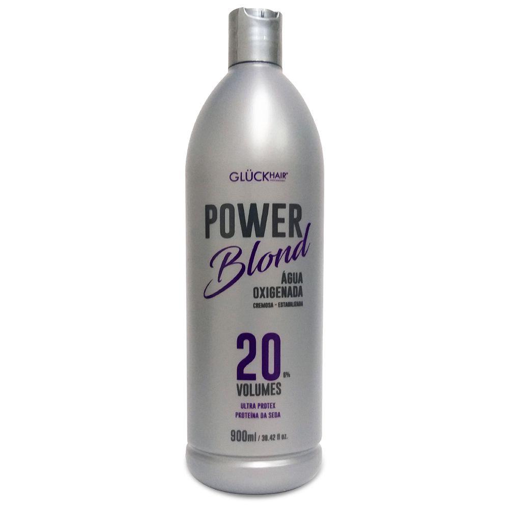 Kit Super Loiros PowerBlond Agua Oxigenada 20 volumes + Pó Descolorante + Shampoo Desamarelador