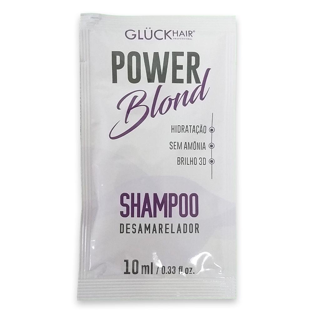 Shampoo Desamarelador PowerBlond - Display 50 unidades de Sachê 10ml