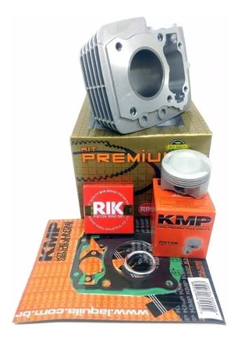 Kit Aumento Cilindrada Kmp Premium Honda Fan 125 09 Para 150