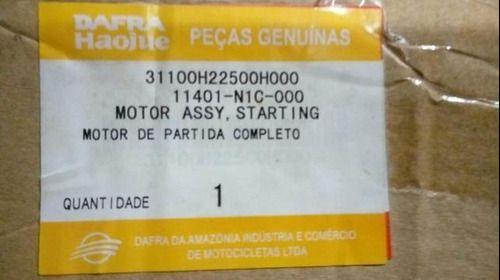Motor De Partida Dafra Riva 150 Original