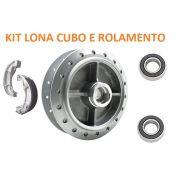 Cubo Roda Traseiro + Lona + Rolamento Titan 150 04 A 15 Titan 160