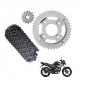 Kit Transmissão Relação Yamaha Fazer 150 Factor 150