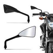 Retrovisor Sport Triangular (TR) Titan Speed Yes Ybr Factor Fazer Apache Zig