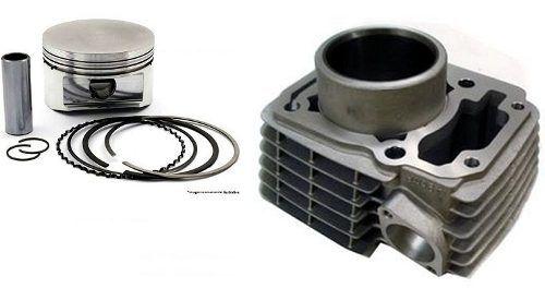 Kit Cilindro/pistão/anel Titan Mix 150 04/16 Fan 150 Bros + KIT A