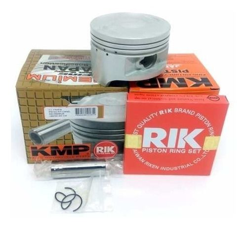 Pistão C/ Aneis Kmp Premium Cbx 200 Xr 200 Nx 200 - Medidas