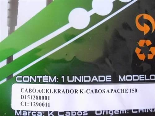 Cabo Acelerador Dafra Apache 150 Mod Original