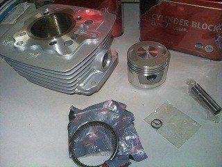 Kit Cilindro/pistão E Aneis Dafra Laser 150 Modelo Original