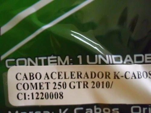Cabo Acelerador Duplo Kasinski Comet 250 Gtr 2010 Ate 2015