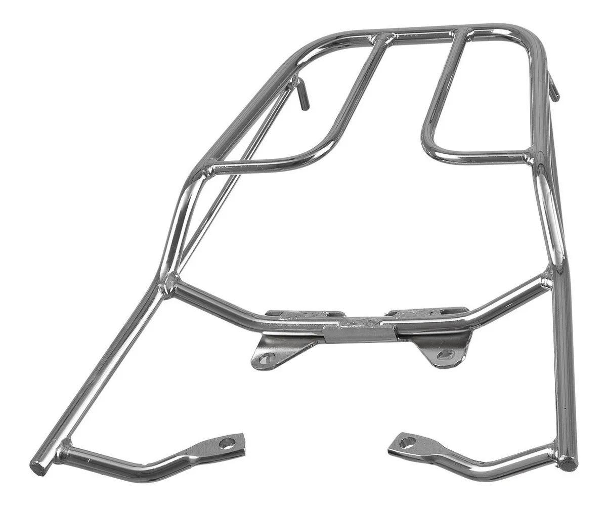 Bagageiro Tubular Honda Titan Fan Start 125 / 150 / 160 cores