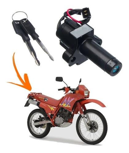 Chave Ignição Honda Nx 150 / Nx 200 / XR 200 Modelo Original