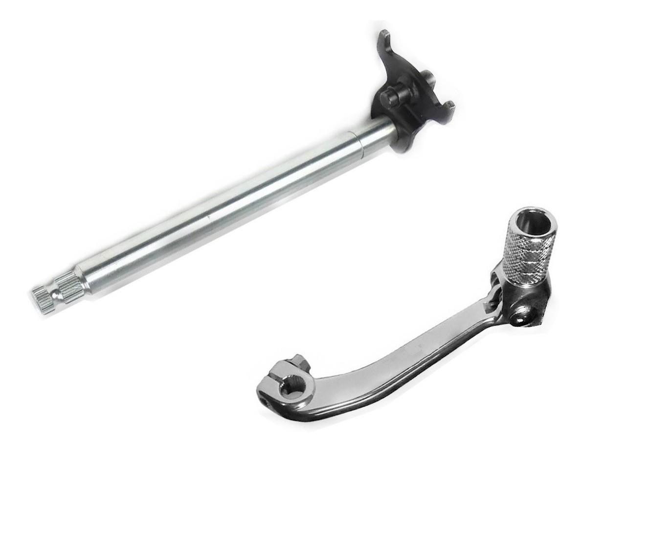 Eixo seletor Marchas + pedal Cambio Honda Crf 230 2006 a 2017