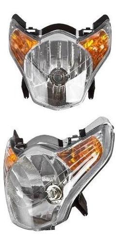 Farol Completo Honda Titan 150 Mix 2009 A 2010 + Lampada