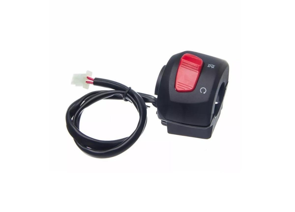 Interruptor Partida Yamaha Ybr 125 Factor 125 2000 a 2013