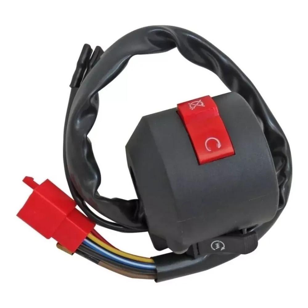 Interruptor Punho Emergencia E Partida Honda Twister 250 06 A 08
