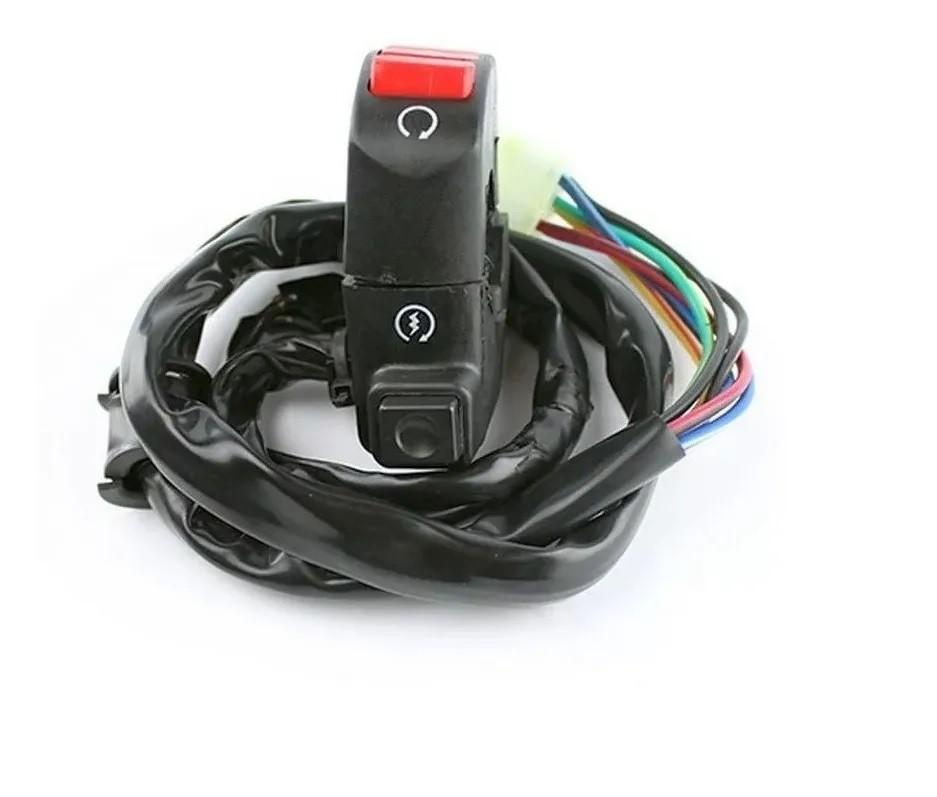 Interruptor Punho Emergencia E Partida Ld Honda Xre 300 09/16