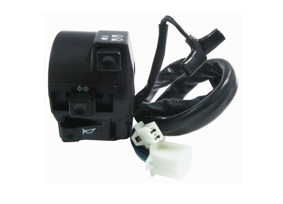 Interruptor Punho Luz Ld Esq Honda Titan 150 04/08 ESD