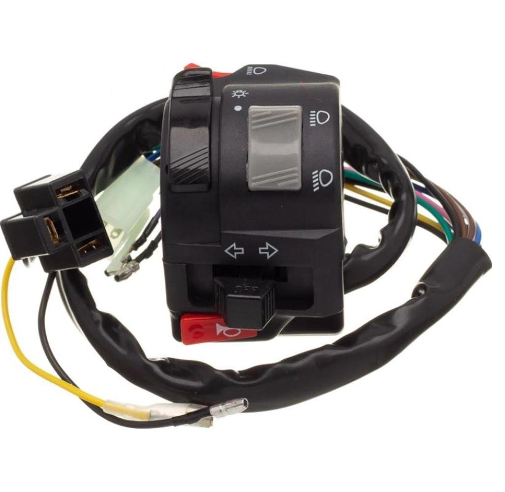 Interruptor Punho Luz Ld Esquer Yamaha Fazer 250 2005 A 2010