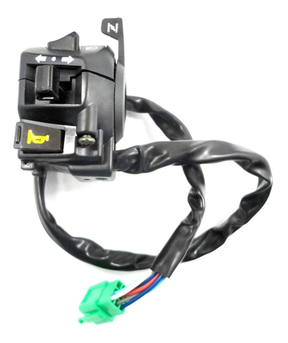 Interruptor Punho Partida + Interruptor Luz Dafra Speed 150