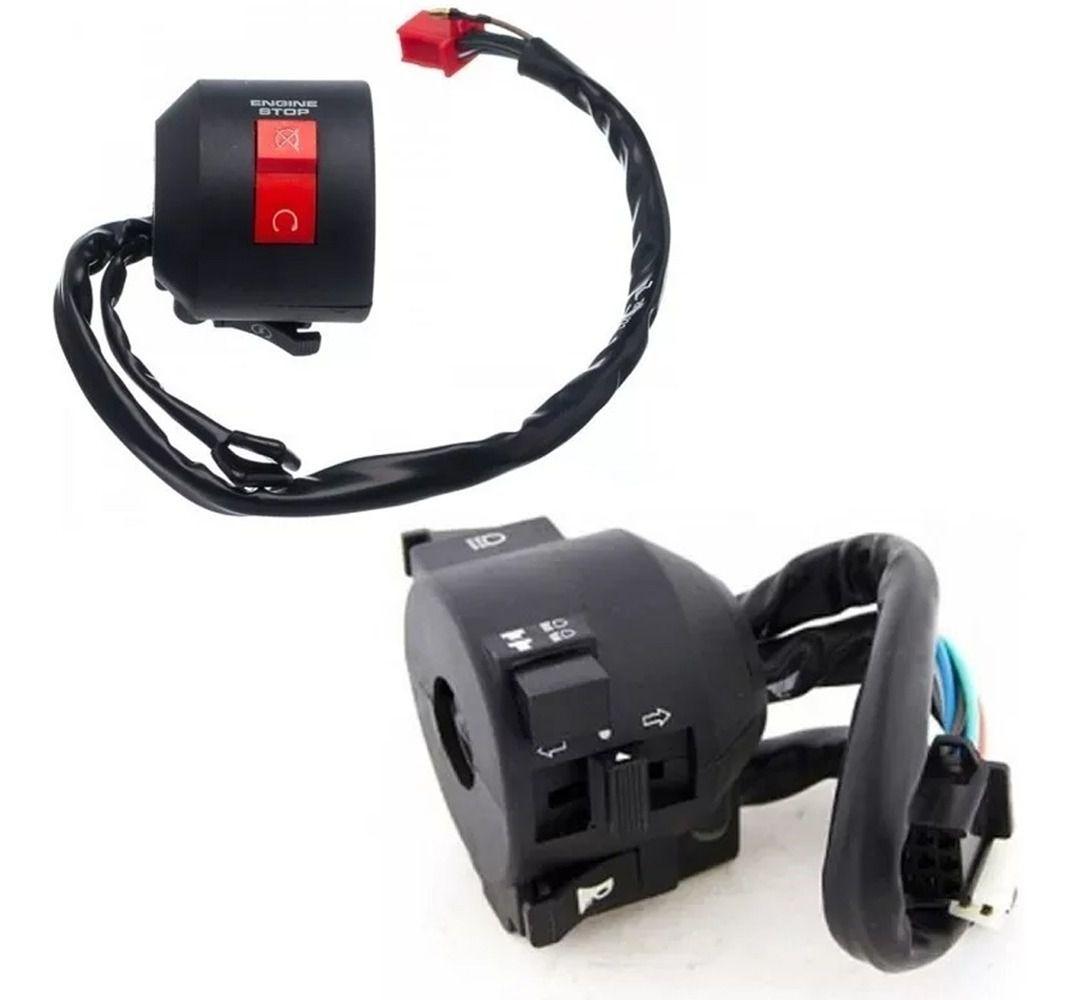 Interruptor Punho Partida + Interruptor Luz Honda Cb 300 09 A 15