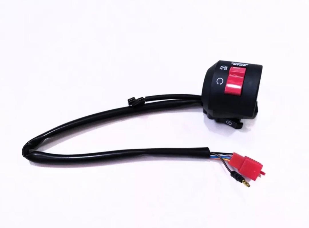 Interruptor Punho Partida + Interruptor Luz Honda Twister 2003 a 2005