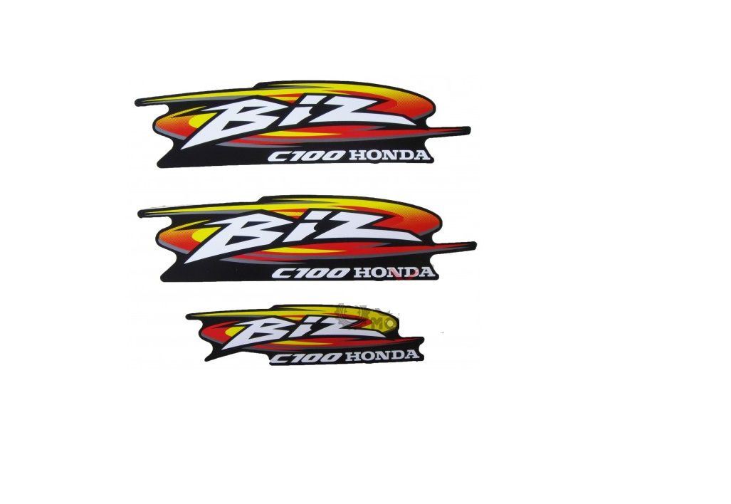 Kit Adesivo Tanque Honda Biz 100 1998 a 2005