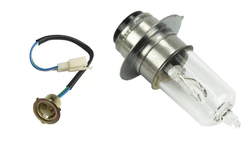 Soquete Chicote + Lamp Farol Biz 125 Pop100 Bros 125 Bros 150