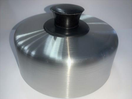 Abafador de Hambúrguer 13cm x 5cm Alumínio