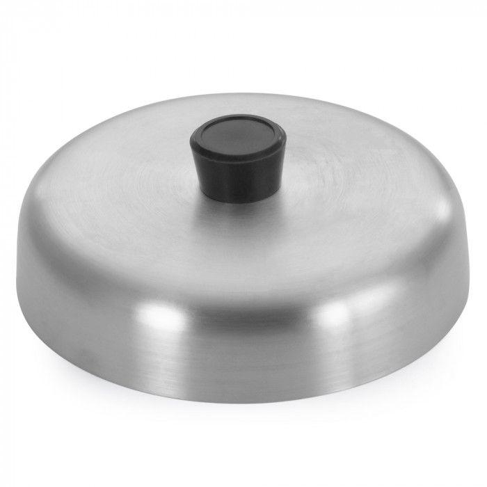 Abafador De Hamburguer De Aluminio 21,5cm