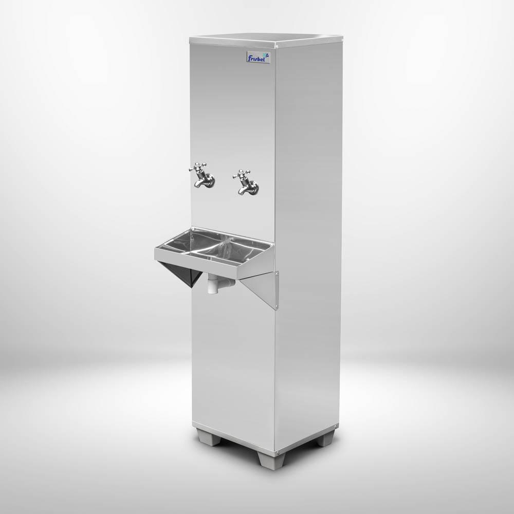 Bebedouro Industrial com Filtro 25 Litros 2 Torneiras Água Gelada 127V