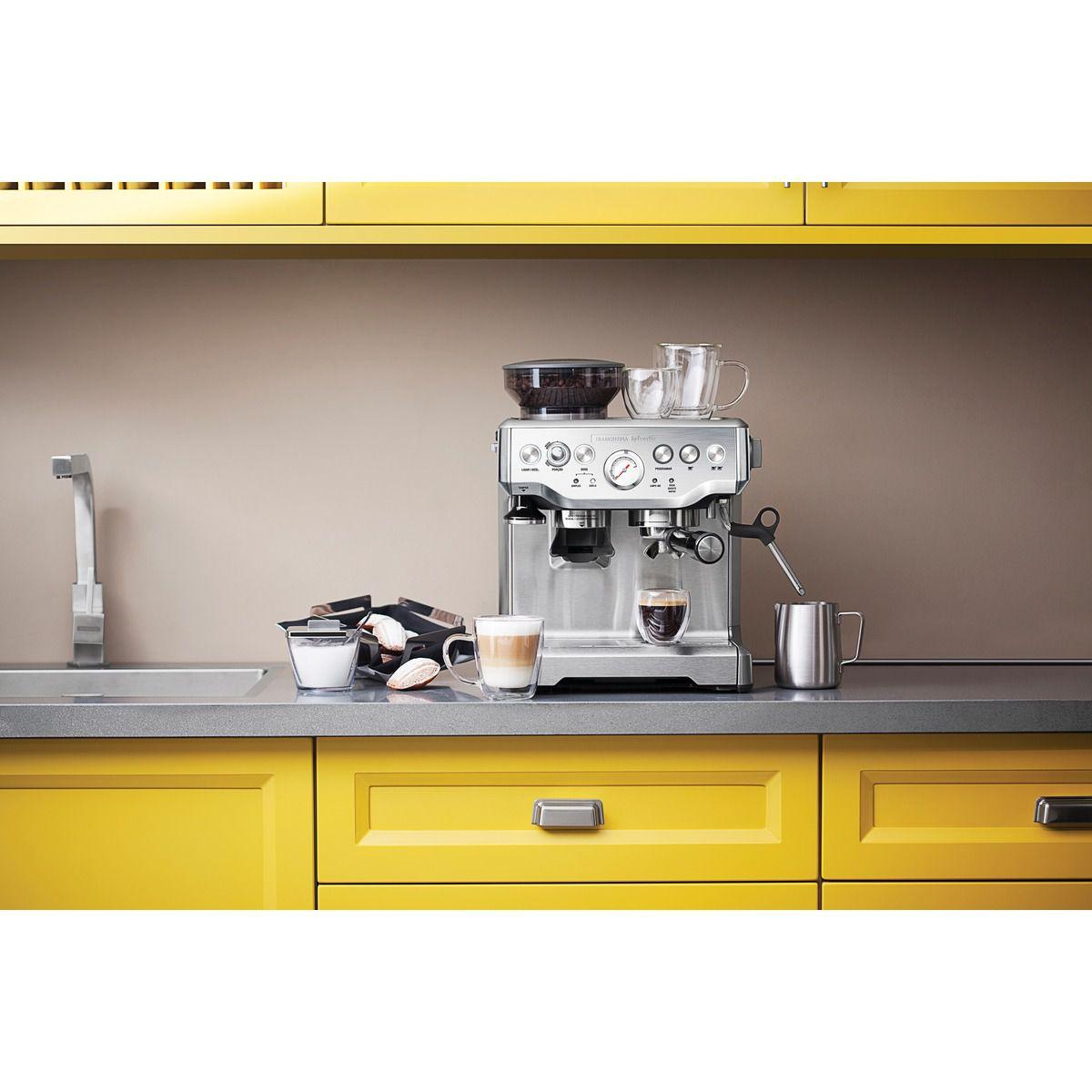 Cafeteira Elétrica Tramontina By Breville Express Pro em Aço Inox Com Moedor