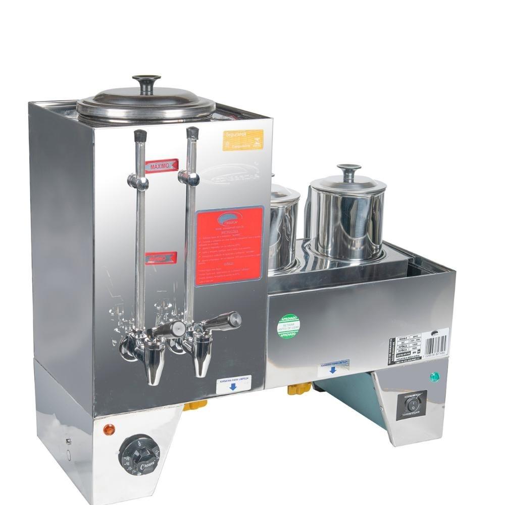Cafeteira Máquina de Café 3L com Esterilizador Acoplado e 2 Bules 127V Consercaf
