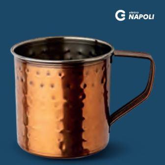 Caneca Inox Cobreado para Drink 300ml - GPINOX