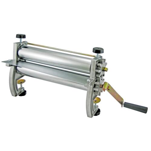Cilindro Manual Antiaderente para Massa em Aço Cromado 28cm Engrenagem e Lateral Alumínio - Malta