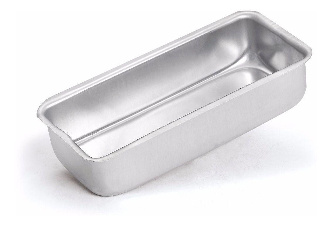 Forma de Pão/Bolo Inglês Alumínio Nº 1
