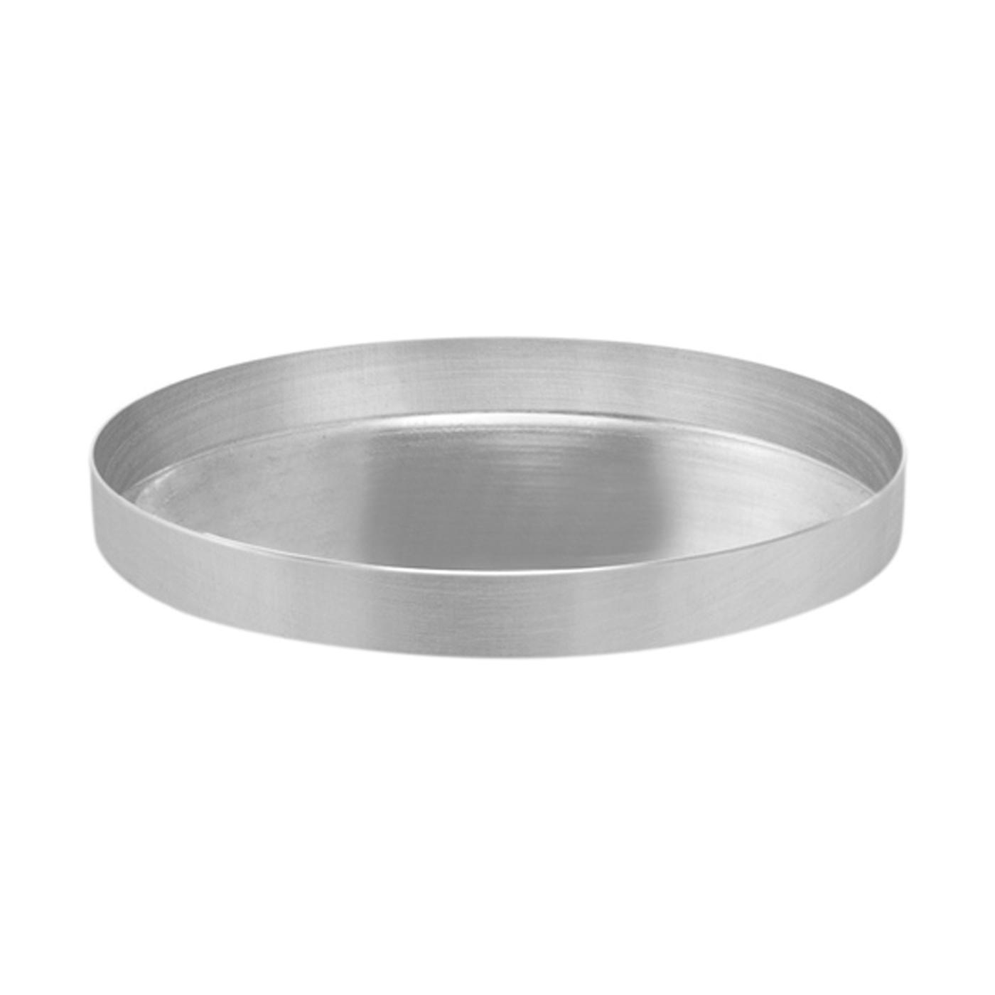 Forma Assadeira de Pizza Alumínio 15cm x 1,5cm