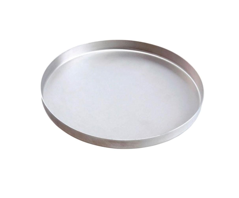 Forma Assadeira de Pizza Alumínio 25cm x 1,5cm