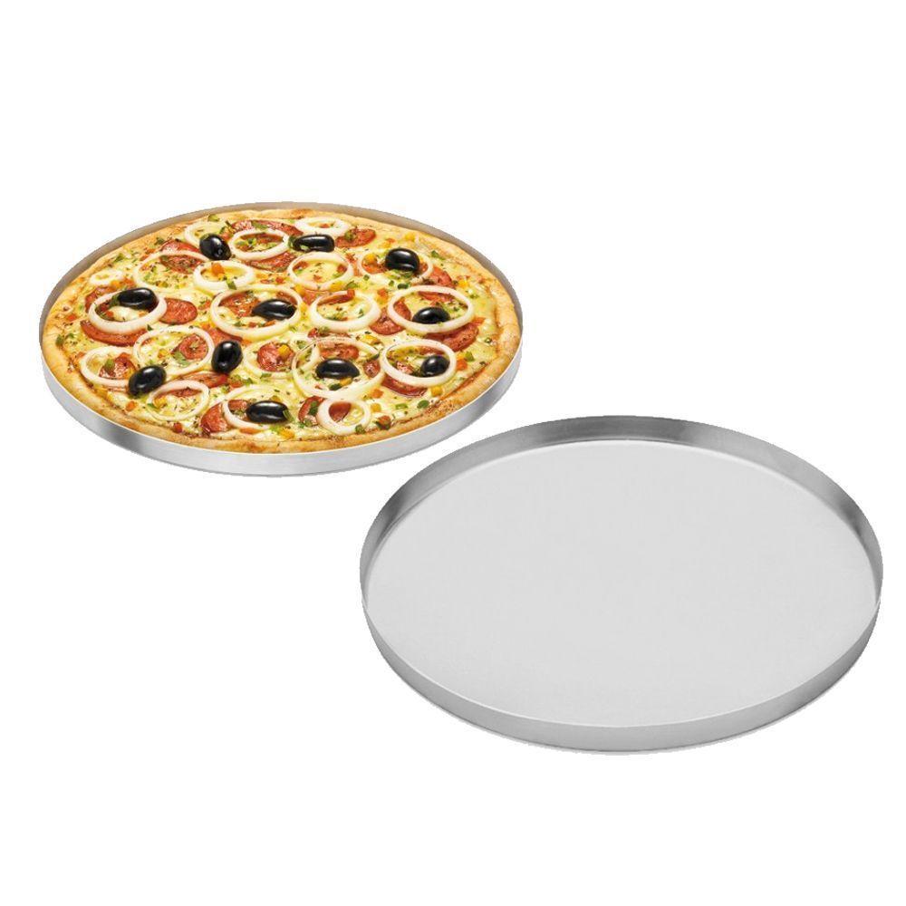 Forma de Pizza Alumínio 40cm x 1,5cm