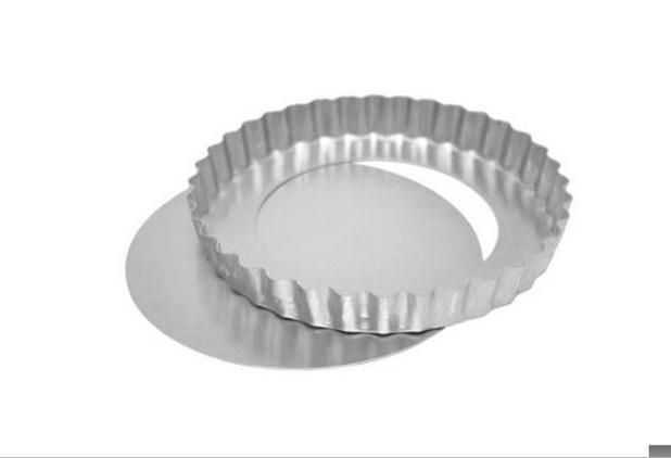 Forma Quiche Torta Maça com Fundo Removível 30cm x 3cm