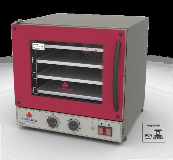 Forno Turbo Elétrico Fast Oven Vermelho Progás 127V