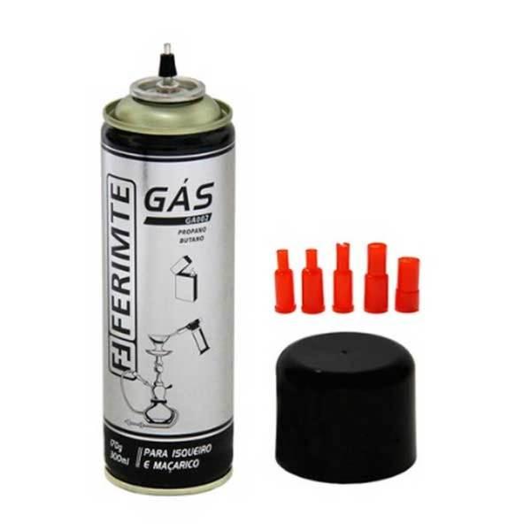 Gás Propano Butano GA002 para Isqueiros e Maçaricos Multiuso / Gastronômico