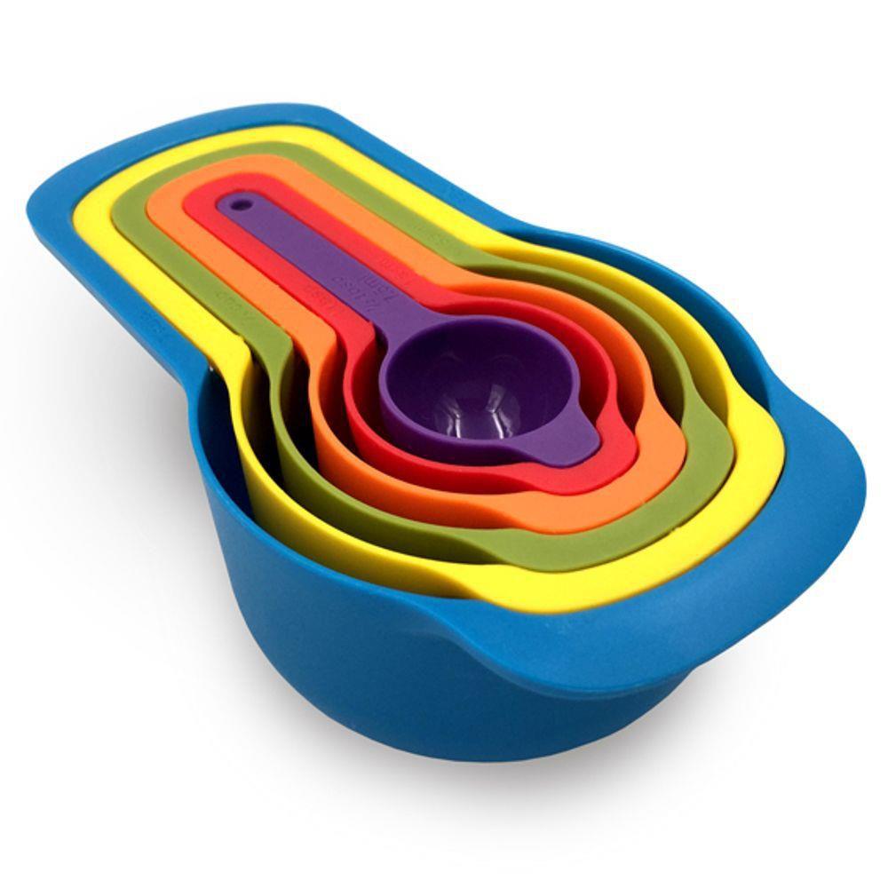 Jogo De Medidores Coloridos 6 Peças