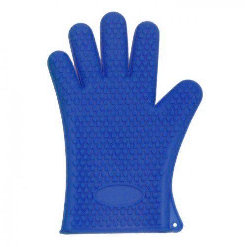Luva de Silicone Dedos Azul Ke Home