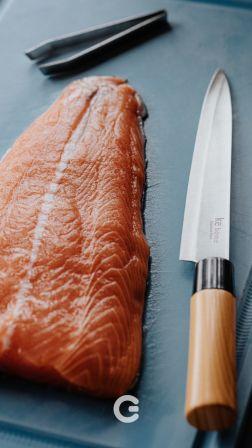 Pinça Inox para Peixe
