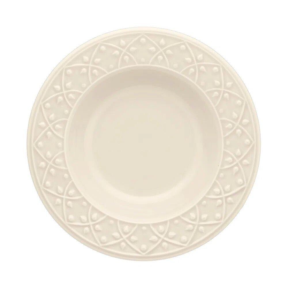 Prato Fundo Mendi Porcelana Oxford 23cm